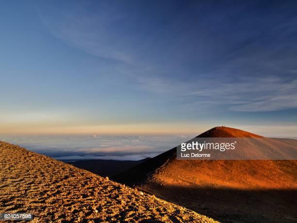 Mauna Kea Summit Hikers