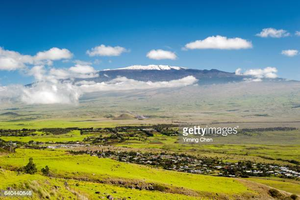 Mauna Kea Volcano in Hawaii