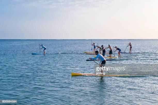 maunalua 湾ビーチパーク - ホノルル ストックフォトと画像