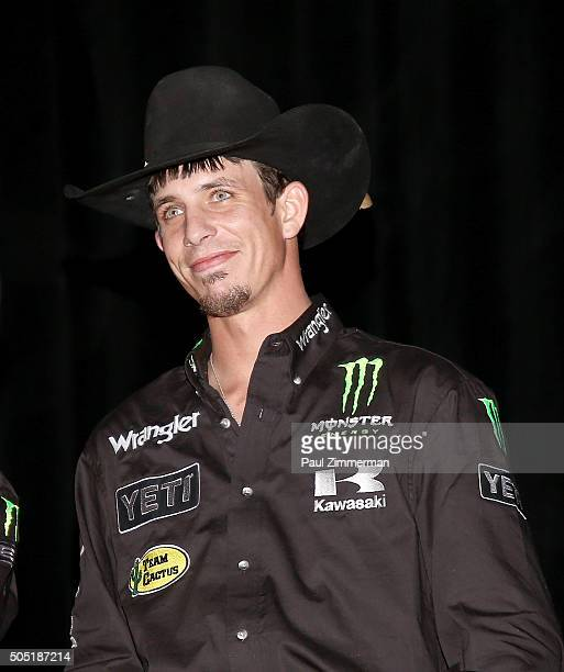 B Mauney attends 2016 Professional Bull Riders Denim Diamonds Party at Madison Square Garden on January 15 2016 in New York City