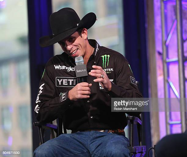B Mauney attends AOL Build Speaker Series at AOL Studios In New York on January 14 2016 in New York City