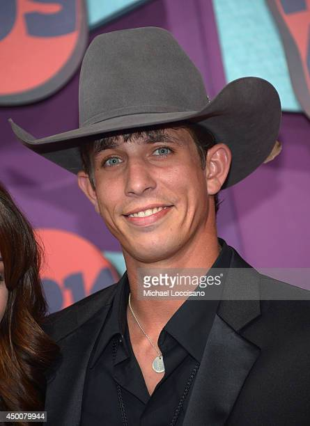 J B Mauney attends the 2014 CMT Music awards at the Bridgestone Arena on June 4 2014 in Nashville Tennessee