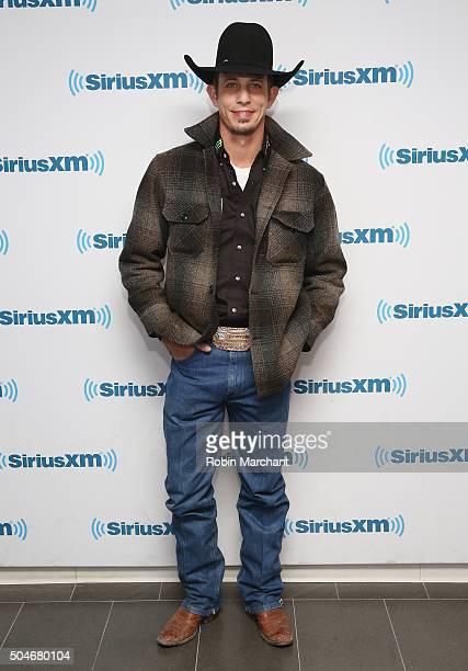 Mauney vistis at SiriusXM Studios on January 12 2016 in New York City
