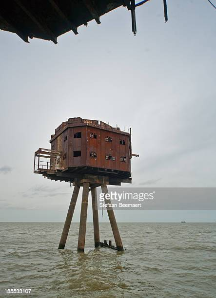 CONTENT] Maunsell Forts red sands fortified towers