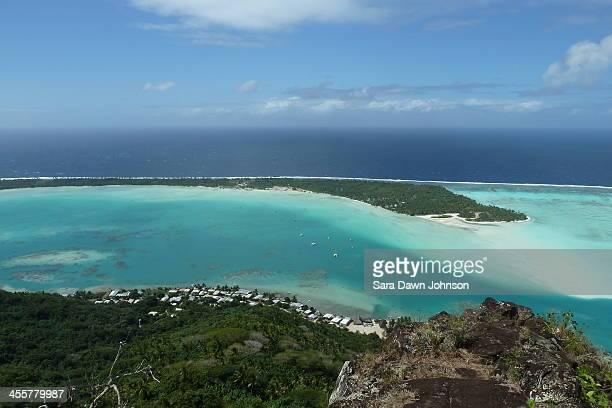 Maupiti Island anchorage, French Polynesia