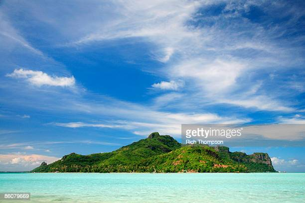 Maupiti Island , French polynesia