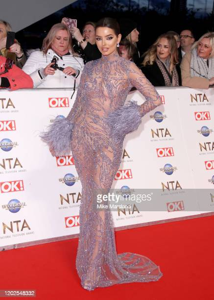 Maura Higgins attend the National Television Awards 2020 at The O2 Arena on January 28 2020 in London England