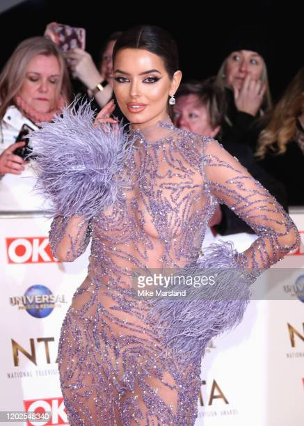 Maura Higgins attend the National Television Awards 2020 at The O2 Arena on January 28, 2020 in London, England.