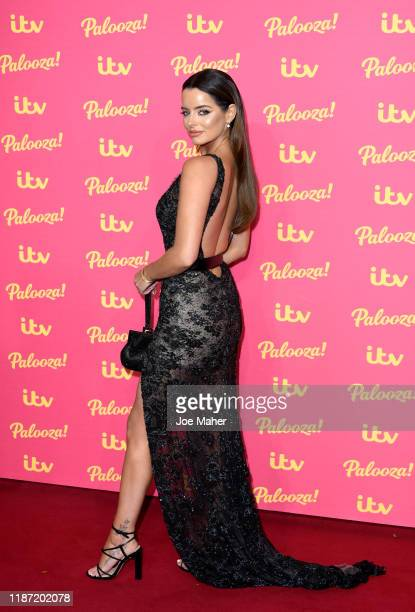 Maura Higgins attends the ITV Palooza 2019 at The Royal Festival Hall on November 12 2019 in London England