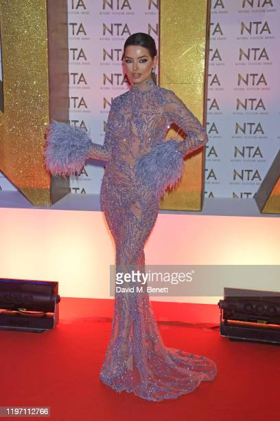 Maura Higgins attends the National Television Awards 2020 at The O2 Arena on January 28, 2020 in London, England.