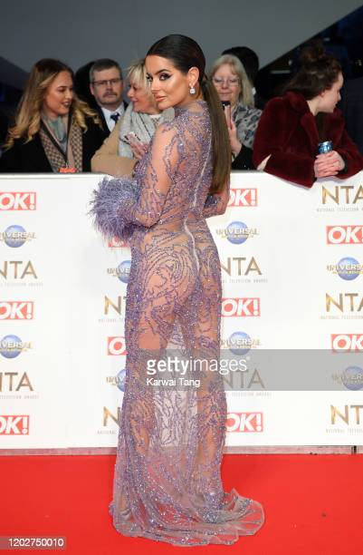 Maura Higgins attends the National Television Awards 2020 at The O2 Arena on January 28 2020 in London England