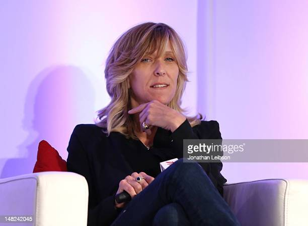Maura Mandt Executive Producer ESPN speaks onstage during the Last Night at the Espys A BehindTheScenes Look discussion at the Variety Sports...