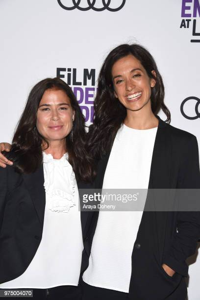 Maura Tierney and Sarah Treem attend Film Independent at LACMA presents screening and QA of The Affair at Bing Theater At LACMA on June 14 2018 in...