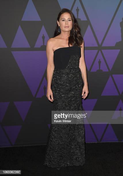 Maura Tierney attends the Academy of Motion Picture Arts and Sciences' 10th annual Governors Awards at The Ray Dolby Ballroom at Hollywood Highland...