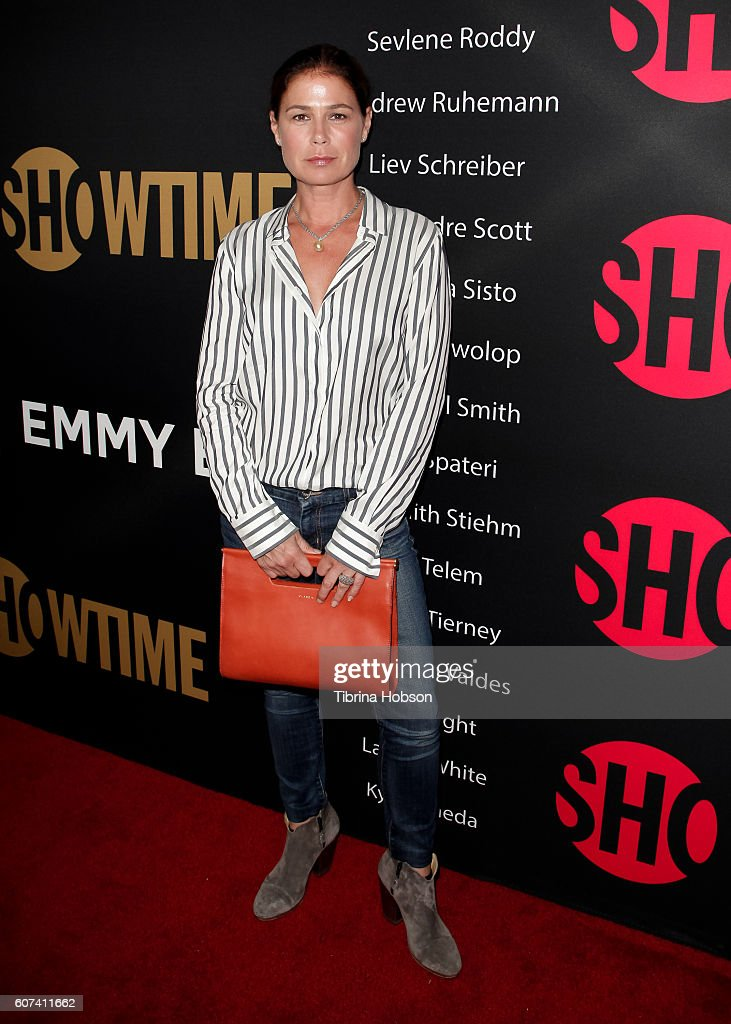 Maura Tierney attends the Showtime Emmy Eve Party at Sunset Tower on September 17, 2016 in West Hollywood, California.