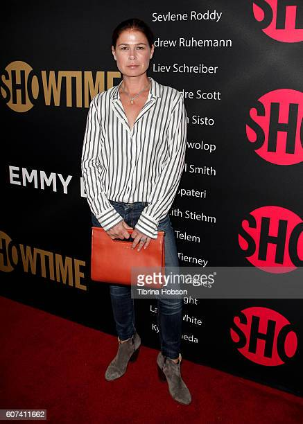 Maura Tierney attends the Showtime Emmy Eve Party at Sunset Tower on September 17 2016 in West Hollywood California