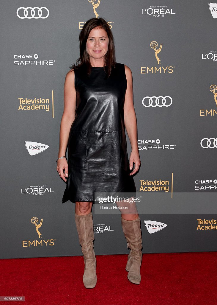 Maura Tierney attends the Television Academy reception for Emmy Nominees at Pacific Design Center on September 16, 2016 in West Hollywood, California.
