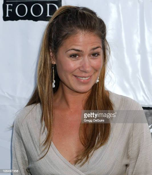 Maura Tierney during 11th Annual Angel Awards Arrivals at Project Angel Food in Los Angeles California United States