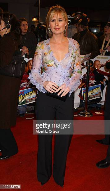Maura Tierney during Premiere Welcome To Mooseport Arrivals at Mann's Village Theater in Westwood California United States