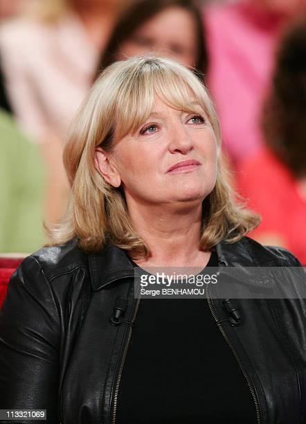 Maurane On 'Vivement Dimanche' Tv Show In Paris France On May 22 2007 Charlotte de Turckheim