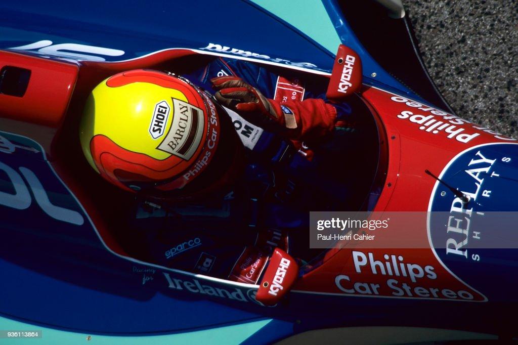 Maurício Gugelmin, Grand Prix Of San Marino : News Photo