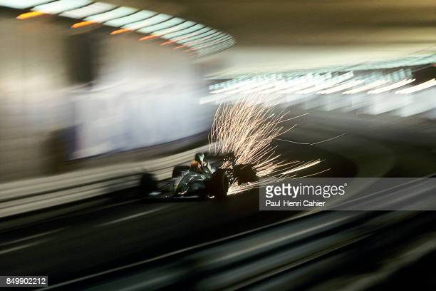 Maurício Gugelmin, Leyton House-Ilmor CG911, Grand Prix of Monaco, Circuit de Monaco, Monaco, May 12, 1991. Mauricio Gugelmin in the Monaco tunnel.