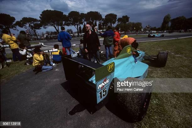 Maurício Gugelmin MarchJudd 881 Grand Prix of San Marino Autodromo Enzo e Dino Ferrari Imola 23 April 1989