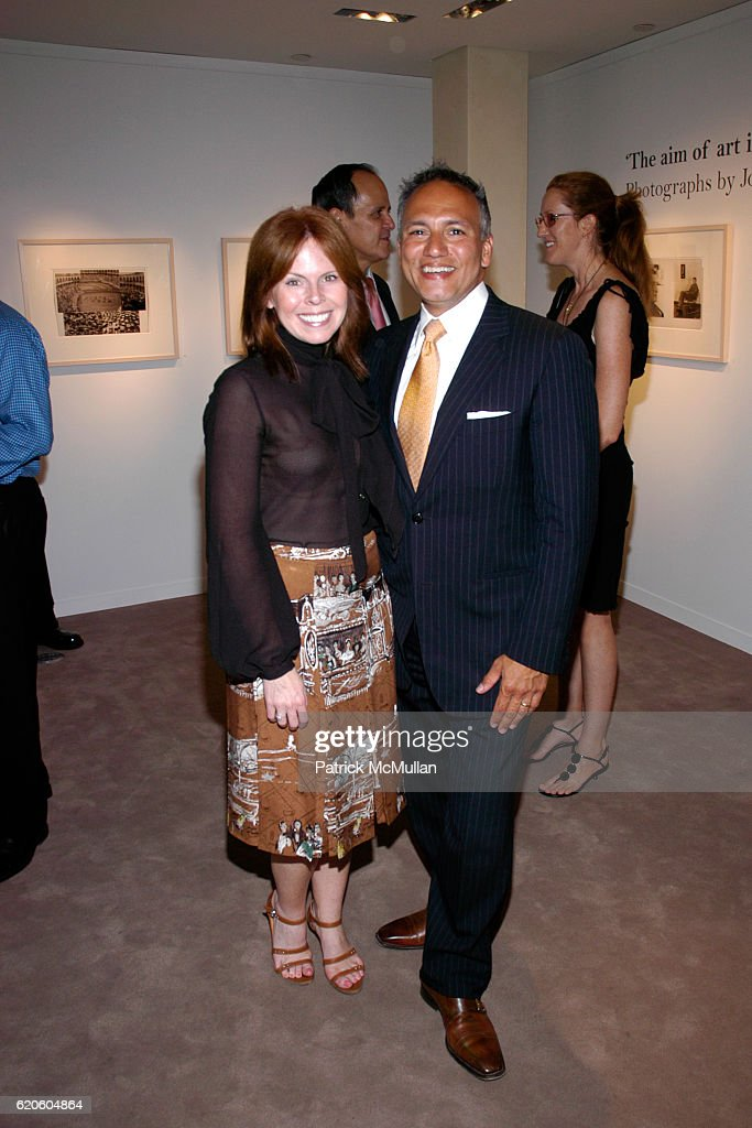 Maureen Baltazar and Tony Fuccillo attend HERMES Hosts Preview of