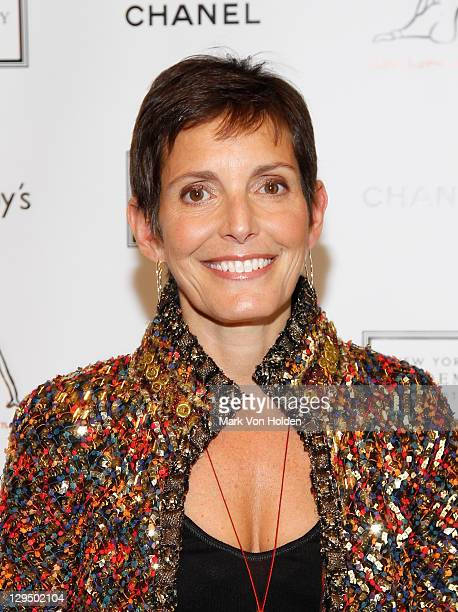 Maureen Chiquet attends The New York Academy of Art's 20th Annual Take Home a Nude benefit at Sotheby's on October 17 2011 in New York City