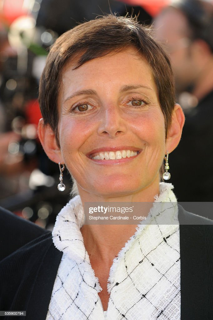 Maureen Chuquey attends the Chanel Cruise Collection Presentation in Saint Tropez