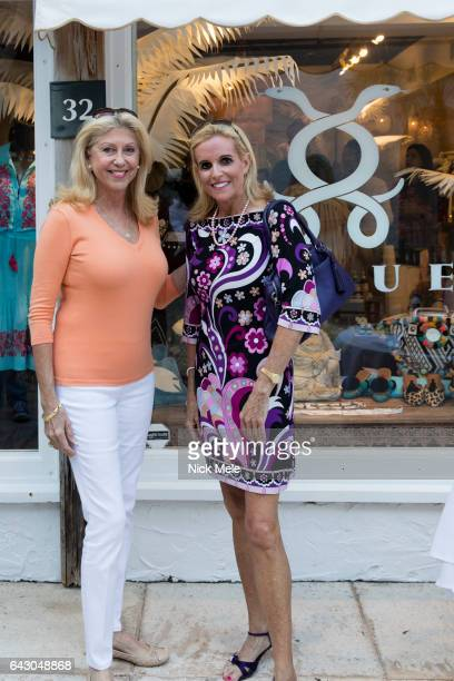 Maureen Conte and Carol Anderson attend Figue Hosts Cocktails Benefitting The Young Friends of the Palm Beach Symphony at Figue on February 19 2017...