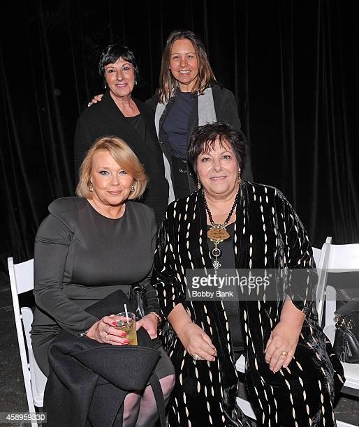 Maureen Curatola Leta Gandolfini Johanna Antonacci and Angela Tarentino attends The 7th Annual New Jersey Hall Of Fame Induction Ceremony on November...