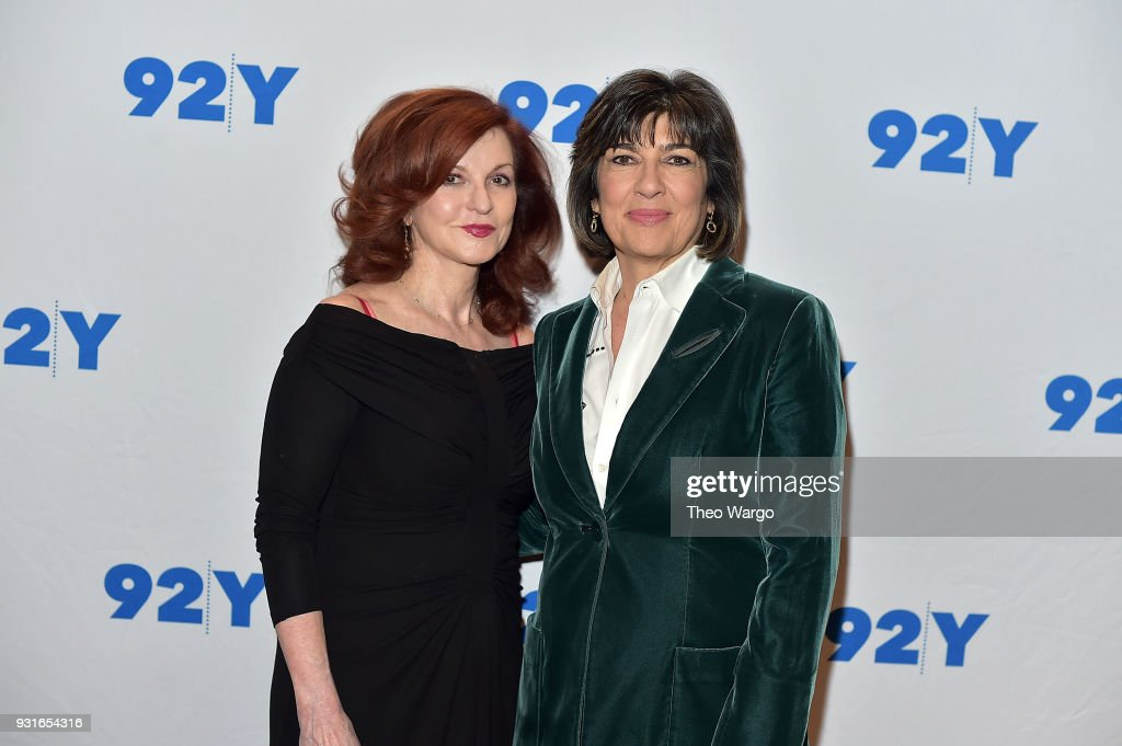 Maureen Dowd and Christiane Amanpour attend 92nd Street Y Presents: Christiane Amanpour In Conversation With Maureen Dowd at 92nd Street Y on March 13, 2018 in New York City.