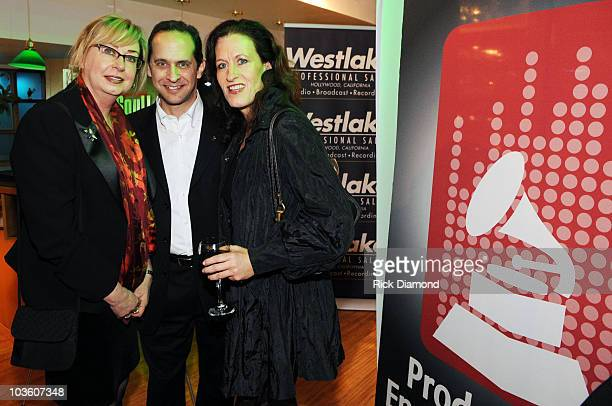 Maureen Downey David Goodman and Guest attend the PE Wing Rock My Soul Event at The Villiage Studios on February 5 2009 in Los Angeles California
