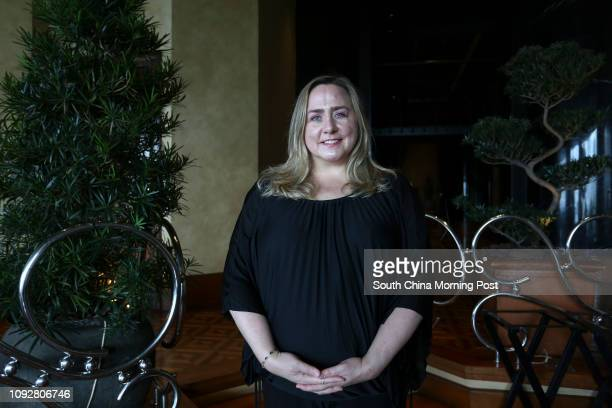 Maureen Downey fake wine expert at Grissini Grand Hyatt Hong Kong on February 07 2017 07FEB17 [FEATURES] SCMP / Jonathan WONG