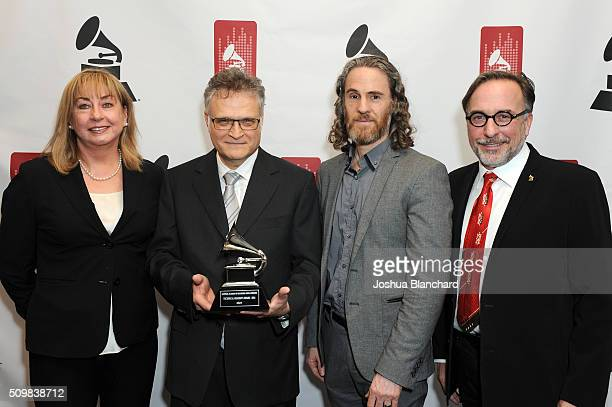 Maureen Droney GRAMMY Winner Jules Limon Scott Jacoby and Bill Freimuth attend the Technical GRAMMY Ceremony for The 58th GRAMMY Awards at The GRAMMY...