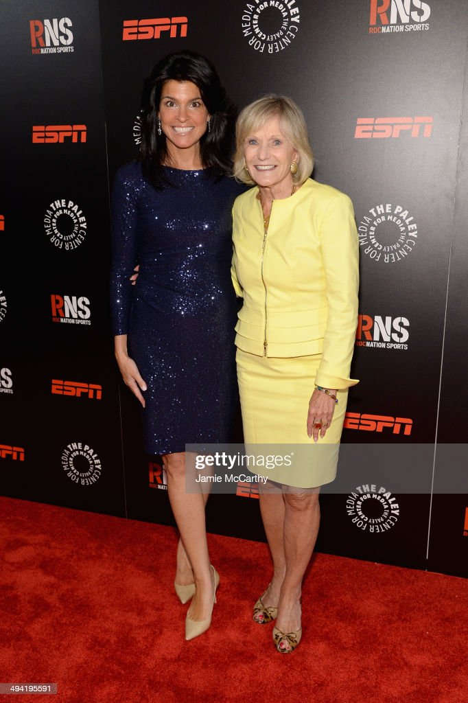 Maureen J. Reidy, President and CEO, Paley Center for Media and Kay Koplovitz attend the Paley Prize Gala honoring ESPN's 35th anniversary presented by Roc Nation Sports on May 28, 2014 in New York City.