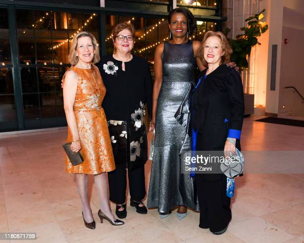 Maureen Kerr Donna De Salvo Pauline Willis and Tsipi BenHaim attend 2019 AFA Gala Cultural Leadership Awards at Guastavino's on November 7 2019 in...