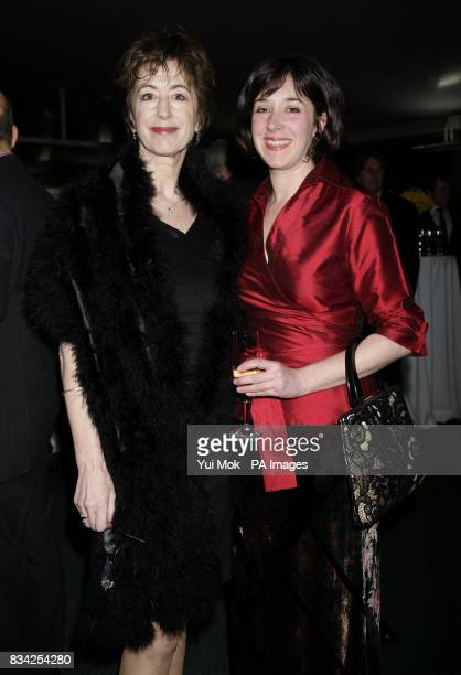 Maureen Lipman and her daughter Amy Rosenthal arriving for the Hampstead Theatre Spring Gala at Lords Cricket Ground in London