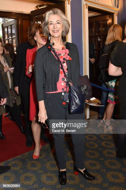 Maureen Lipman arrives at the press night performance of 'Consent' at the Harold Pinter Theatre on May 29 2018 in London England