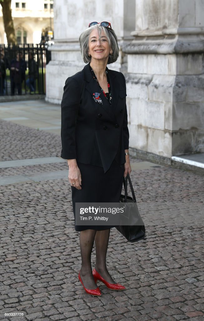 Maureen Lipman attends a memorial service for comedian Ronnie Corbett at Westminster Abbey on June 7, 2017 in London, England. Corbett died in March 2016 at the age of 85.