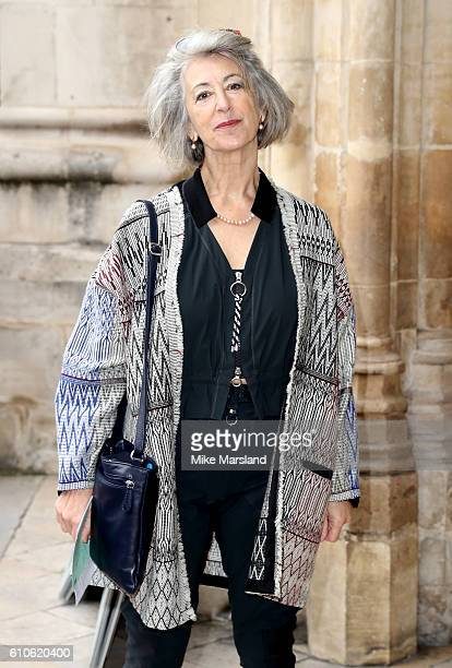 Maureen Lipman attends a memorial service for the late Sir Terry Wogan at Westminster Abbey on September 27 2016 in London England