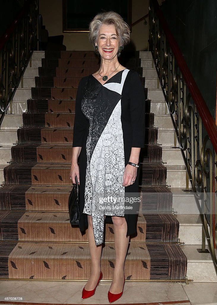 Maureen Lipman attends the Leading Cultural Destination awards at Jumeirah Carlton Tower on October 10, 2014 in London, England.