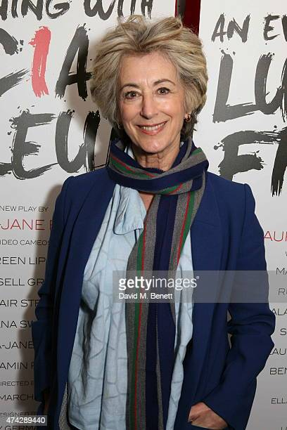 Maureen Lipman attends the press night performance of 'An Evening With Lucian Freud' at the Leicester Square Theatre on May 21 2015 in London England
