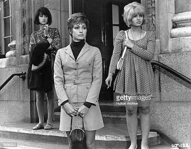 Maureen Lipman with Adrienne Posta and Suzy Kendal in the film 'Up the Junction' based on the book by Nell Dunn
