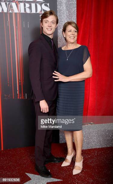 Maureen Mallard and Rob Mallard attend The British Soap Awards at The Lowry Theatre on June 3 2017 in Manchester England The Soap Awards will be...