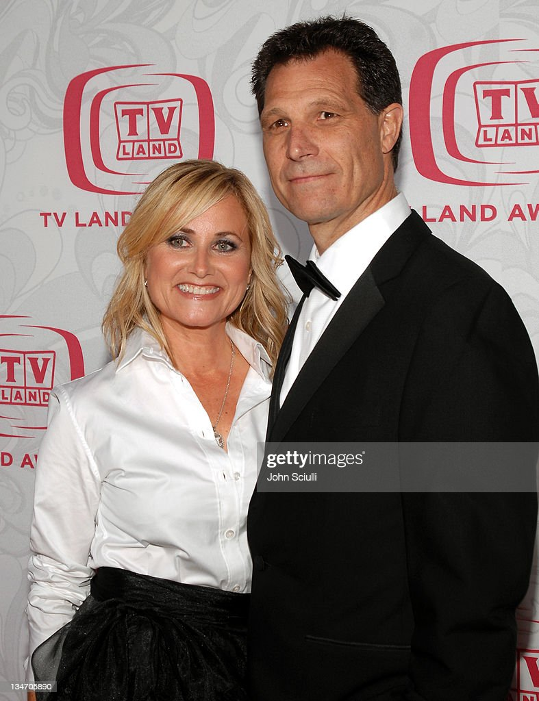 Maureen McCormick and husband Michael Cummings during 5th Annual TV Land Awards - Arrivals at Barker Hanger in Santa Monica, CA, United States.