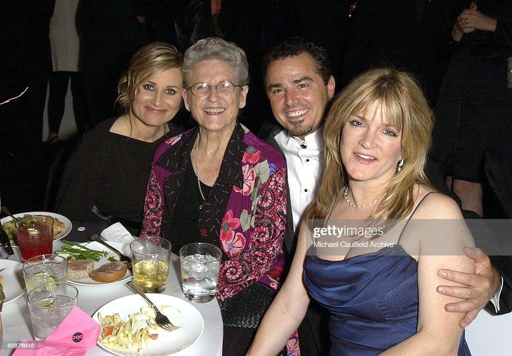 Maureen McCormick, Ann B. Davis, Christopher Knight and Susan Olsen of The Brady Bunch