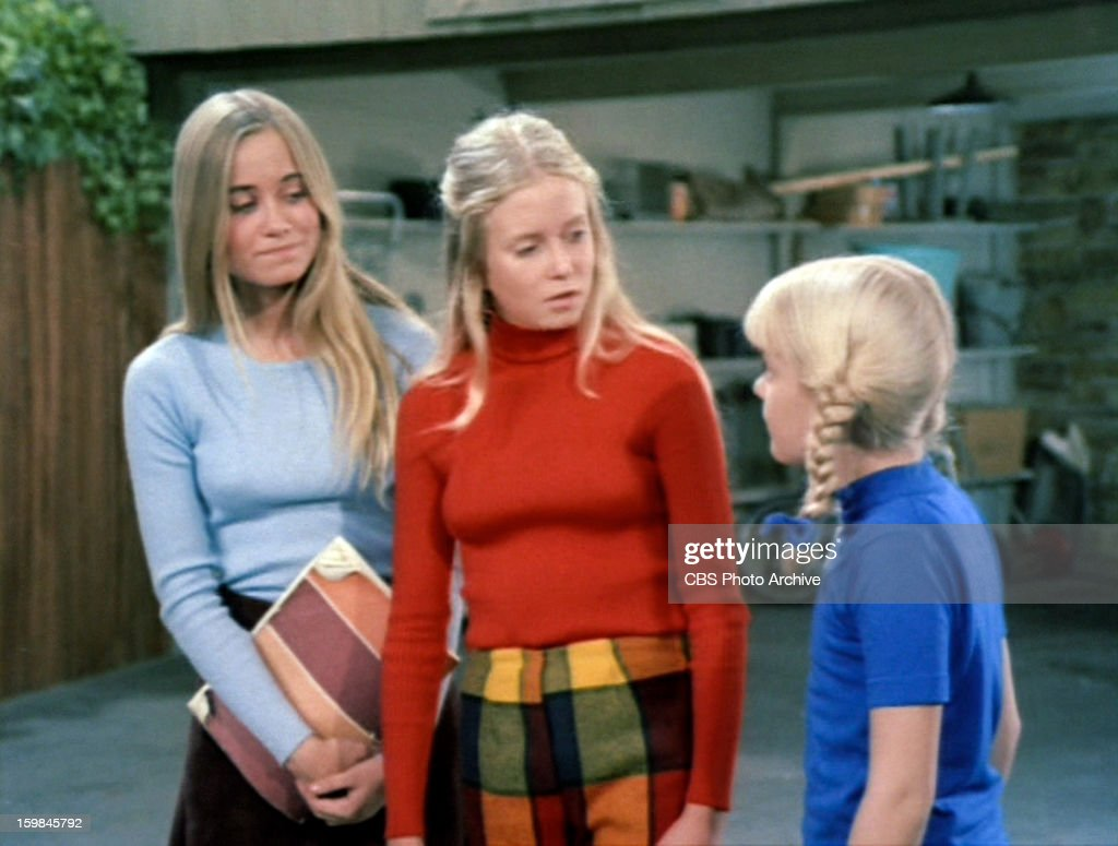 Maureen Mccormick As Marcia Brady Eve Plumb As Jan Brady And Susan