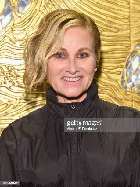 Maureen McCormick attends the 25th Annual Race To Erase MS Gala at The Beverly Hilton Hotel on April 20 2018 in Beverly Hills California